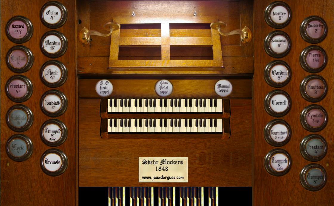 Jeux d'orgues 2 : Stiehr-Mockers | Jeux d'orgues