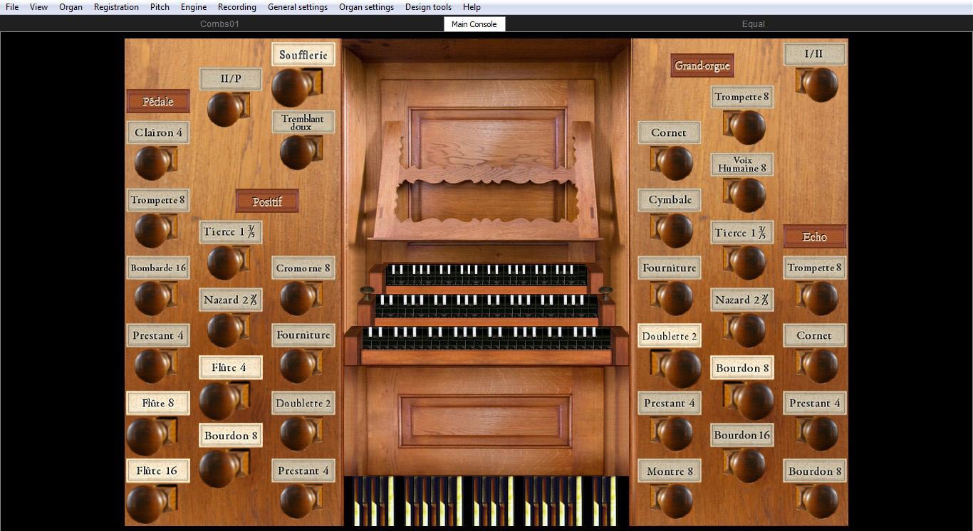 Jeux d orgues 3 silbermann jeux d 39 orgues for Console de jeux